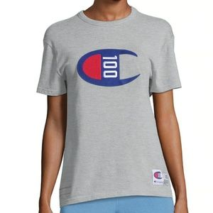 Champion NWT Gray Special Edition Tee